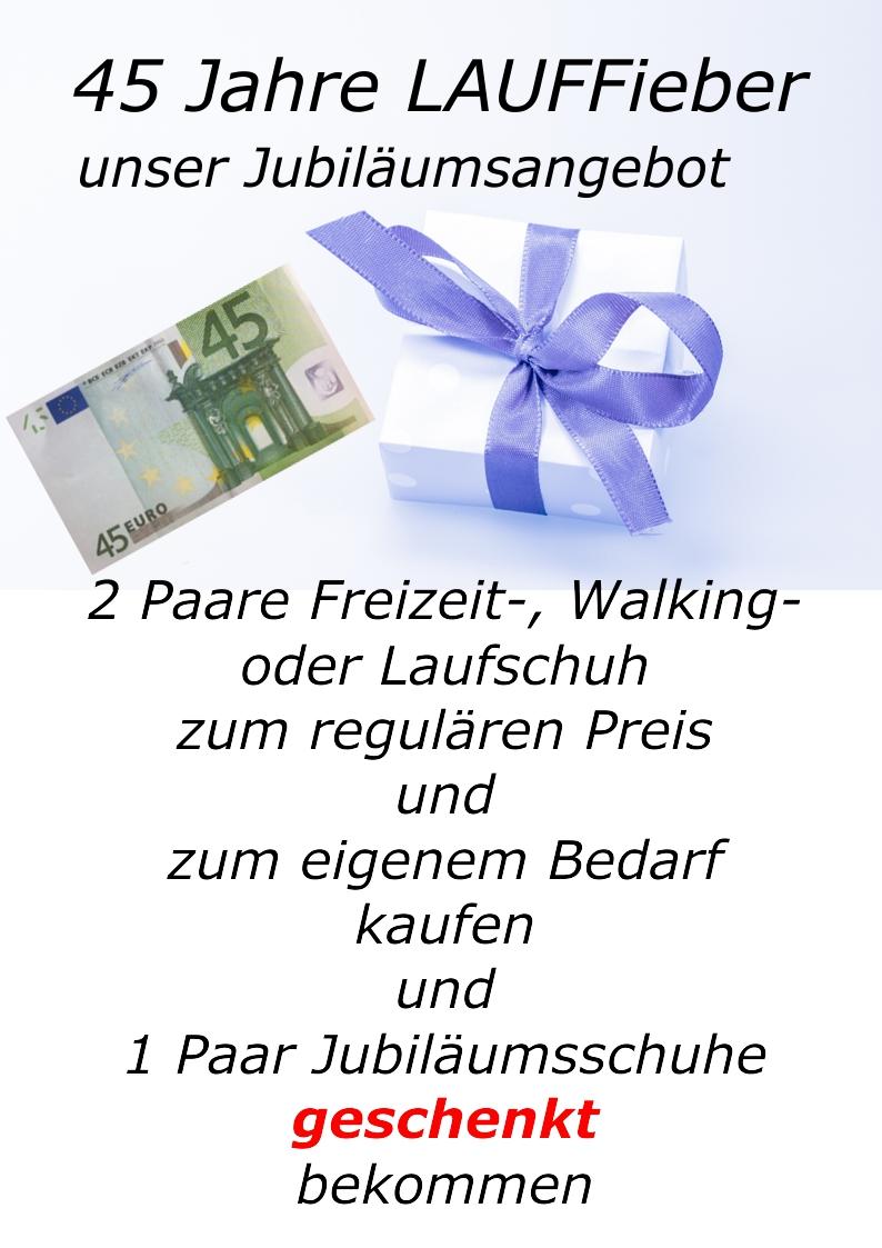 LAUFFieber Aschaffenburg Jubiläumsangebot