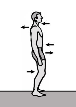 Haltungsübung